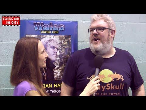 Game of Thrones Seasons 3 & 4 Hodor Interview - Kristian Nairn