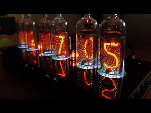 Unboxing & First Look - Nixie Clock (IN-14)