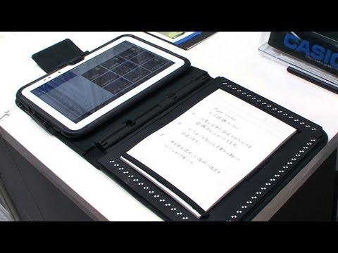 "Casio Paper Writer 10.1"" Android tablet traverses the analog and digital divide #DigInfo"