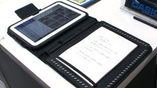 Casio Paper Writer 10.1 Android tablet traverses the analog and digital divide #DigInfo