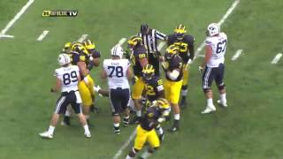 2015 Michigan vs BYU Highlights