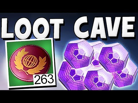 Destiny 2 - LOOT CAVE UNLIMITED ENGRAMS & TOKEN GLITCH !!
