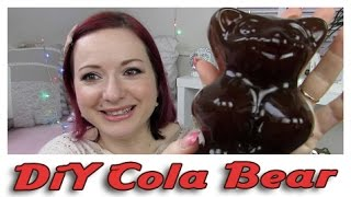 Cola DiY Gummi Baerchen / cola DiY jello bear