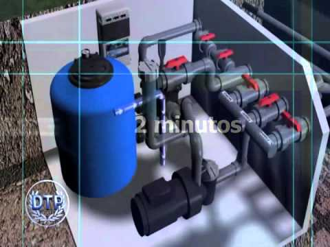 Dtp lavado arenas del filtro depuradora youtube for Depuradoras de agua salada para piscinas
