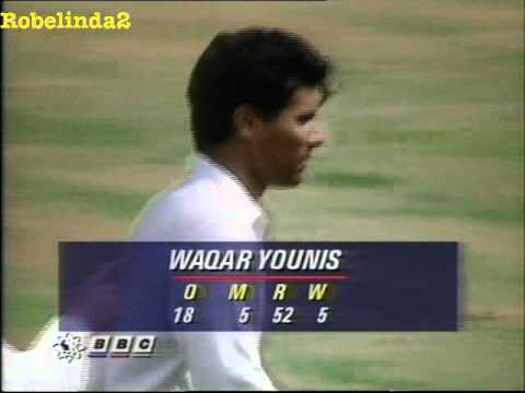 YORKERS FROM HELL - WAQAR YOUNIS COMPILATION OF DOOM