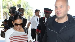 Mel B And Stephen Belafonte Look Like Perfect Couple At LAX Despite Recent Abuse Reports