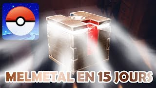 AVOIR MELMETAL RAPIDEMENT AVEC LA BOITE MYSTERE !! - POKEMON GO