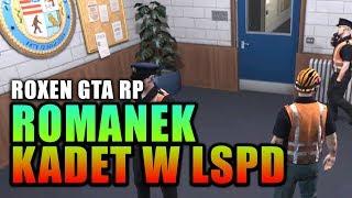 ROXEN GTA RP | ROMANEK KADET W LSPD | Funny Moments