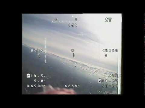 FPV record Altitude 13,398' AGL (4060m) FPV