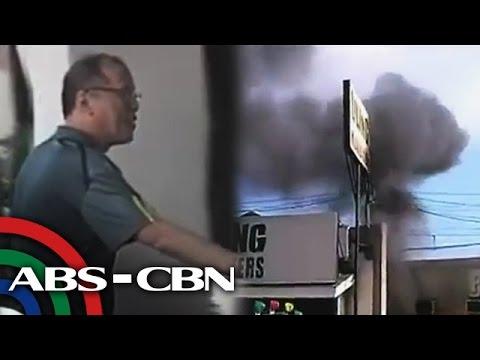 Pnoy Dinalaw Ang Mga Biktima Ng Pagsabog Sa Zamboanga video