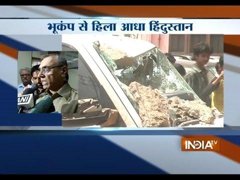 Kathmandu Airport closed down after the major Earthquake