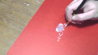 How to paint ornament, part 10 - floral, irishkalia