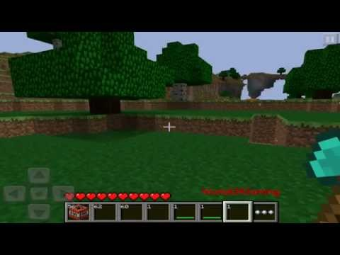 How to get diamond tools. lava. water. and TNT in Minecraft Pocket Edition (iMCPEdit)