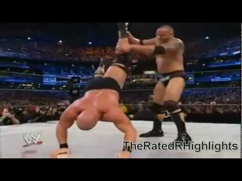 Wrestlemania 19-the Rock Vs Stone Cold Highlights (hd) video