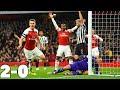 LACAZETTE STRIKES AGAIN!! ARSENAL vs NEWCASTLE 2-0 HIGHLIGHTS FOOTBALL MATCH!! thumbnail