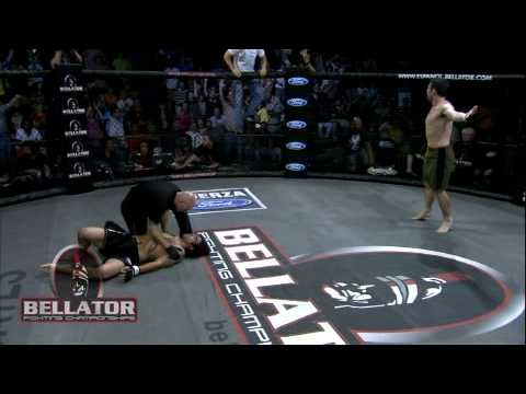 Bellator IX Highlight - Chad Leonhardt KOs Dan Keenan
