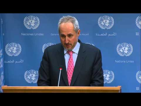 "On Yemen, ICP Asks UN of Saudi Strike on Amran Base, If Houthis Had In 2014, UN: ""Not For Us To Say"""