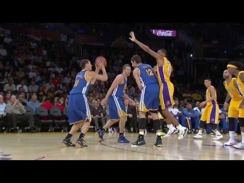 Klay Thompson's Sharp Shooting Night vs the Lakers