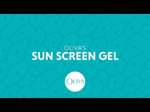 OLIVA'S Sunscreen Gel - Protect Your Skin From Sun