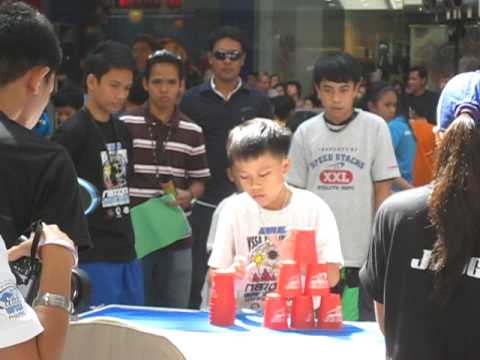 2010 National speed stacking Competition-Gaisano Eagles from Davao City