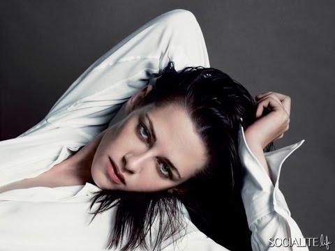 Kristen Stewart V Magazine Latest Photo Shoot 2013