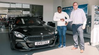 Taking Delivery of a Brand NEW 2019 BMW Z4!