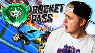 """BRAND NEW ROCKET PASS! 