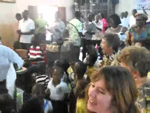 EMI Worship with TCWC Congregation in Ghana 1