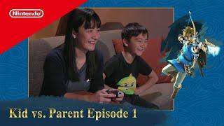 Kid vs. Parent - The Legend of Zelda: Breath of the Wild on Nintendo Switch Ep. 1