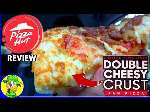Pizza Hut® | Double Cheesy Crust Pan Pizza | Food Review! 🍕😀👍 thumbnail