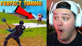 Funny Fortnite Moments #4 - Reaction