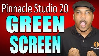 Pinnacle Studio 20 Ultimate | Green Screen Chroma Key Tutorial