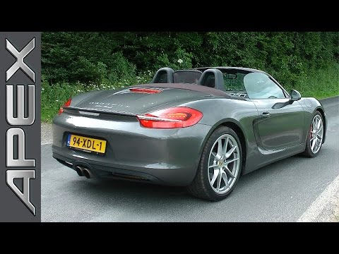 Porsche Boxster S (HD Review) – English Subtitles
