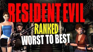 Resident Evil Games Ranked: Worst to Best