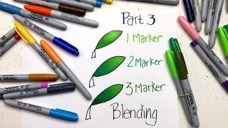 Sharpie Coloring Secrets: Part 3 - Blending