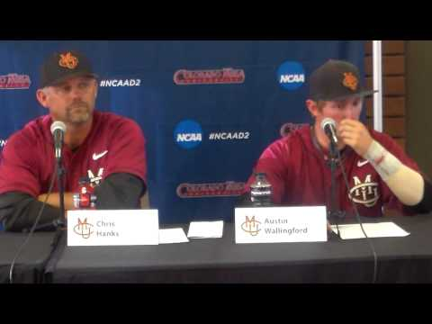 Colorado Mesa NCAA Regional Post Game