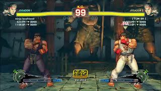 Super Street Fighter IV Online Ranked   Ryu vs Ryu