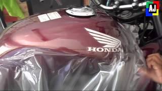 Adesivando Tanque da moto em 11 minutos (novo recorde)