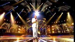 Live Show #2 Jahmene Douglas sings Amy Winehouse/Ashford & Simpson The X Factor UK 2012