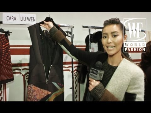 Etro Fall-Winter 2013-14. Backstage with World Fashion Channel