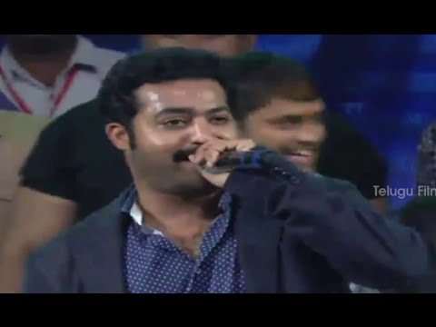Jr NTR Live Performance @ Rabhasa Audio Launch - Samantha, Pranitha Subhash