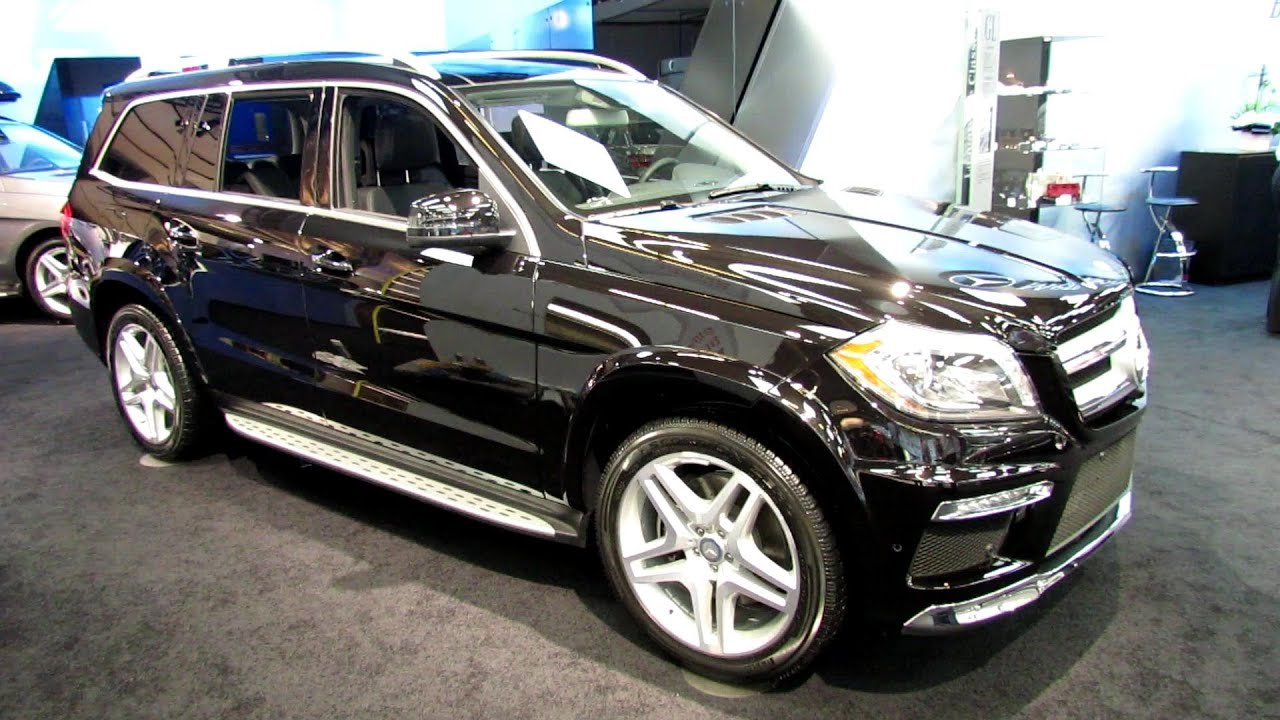 2013 Mercedes-Benz GL350 4matic - Walkaround - 2013 Salon de L ...
