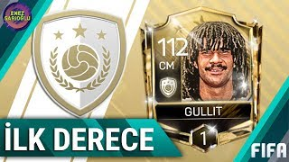 FIRST RANK UP PLAYER! RANK 1 GULLIT! FIFA MOBILE 18