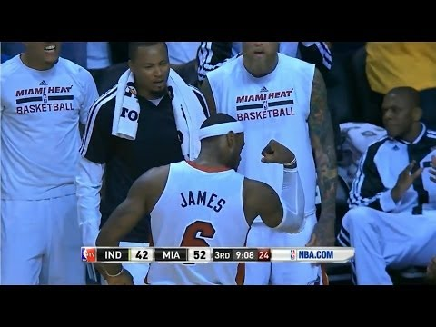 Indiana Pacers - Miami Heat 86 - 98: Heat's 20-2 third quarter run | 11 Apr 2014