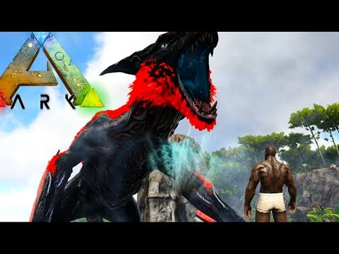 ALPHA MANAGARMR ABOVE!! (ep2) - Ark Extinction Survival Evolved