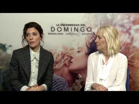 Entrevista a Bárbara Lennie y Susi Sánchez, protagonistas de 'La enfermedad del domingo'