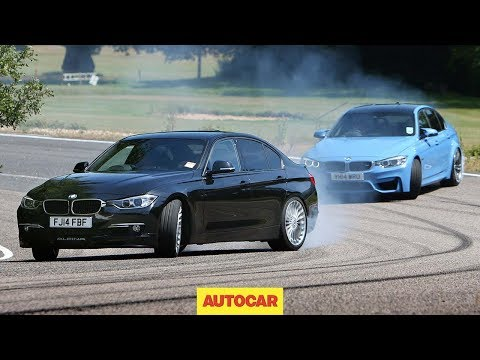Petrol BMW M3 vs diesel Alpina D3 - fast saloon showdown klip izle