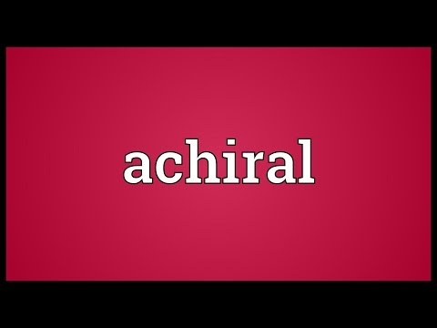 Header of achiral