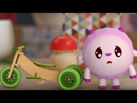 Малышарики - Помощница🚴🚵 - серия 77 - обучающие мультфильмы для малышей 0-4