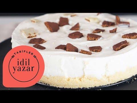 Muzlu Magnolia Tadında Dondurma Pastası - İdil Tatari - Yemek Tarifleri